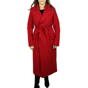 SophieB Red Long Winter Coat  - ONLINE SPECIAL - NOW €75