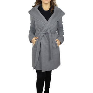 SophieB Grey Hooded Winter Coat - ONLINE SPECIAL - €75