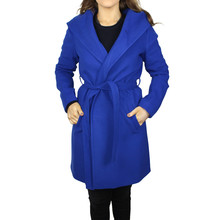 SophieB Royal Blue Hooded Winter Coat - ONLINE SPECIAL - €75