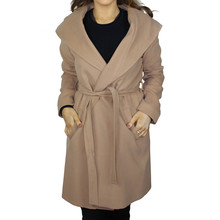 SophieB Camel Hooded Winter Coat - SPECIAL OFFER - €75