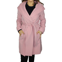 SophieB Light Pink Hooded Winter Coat - ONLINE SPECIAL - €75
