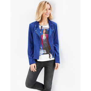 Gerry Weber Electric Blue Biker Jacket