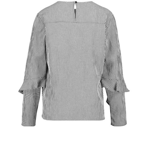 Gerry Weber Electric Vibes Long-sleeve blouse with houndstooth checks