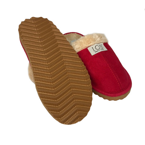 IOS Red Luxury Slippers