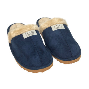 IOS Navy Luxury Slippers
