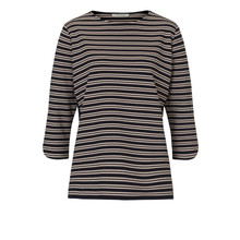 Betty Barclay Round Neck Strip Top