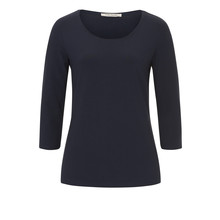 Betty Barclay Dark Navy Round Neck Top