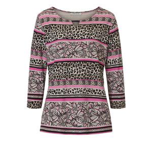 Betty Barclay Pink Stripe & Pattern Top