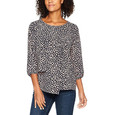 Betty Barclay Round Neck Pattern Blouse