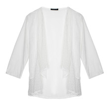 SophieB Light Open Front Knit
