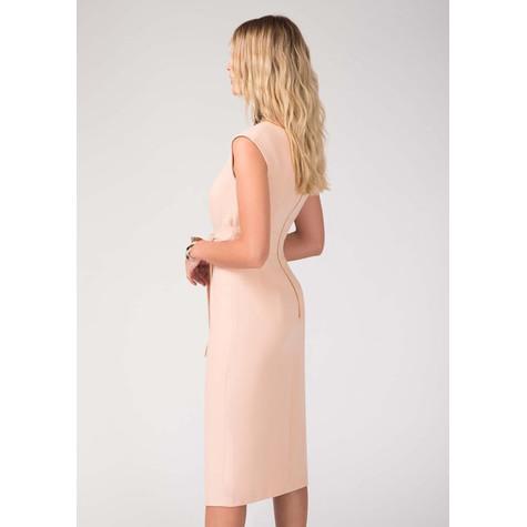 Closet Nude Tie Front Dress