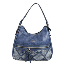 Gionni Navy Studded Accessory Bag