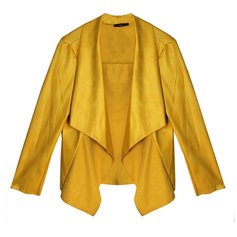 SophieB Citrus Open Drape Jacket