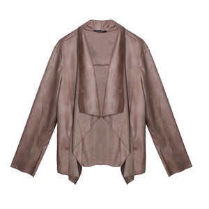 SophieB Old Pink Drape Open Jacket