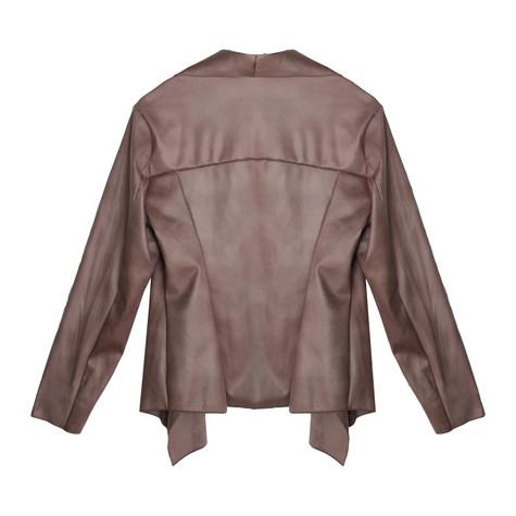 SophieB Old Pink Drape Open Jacket