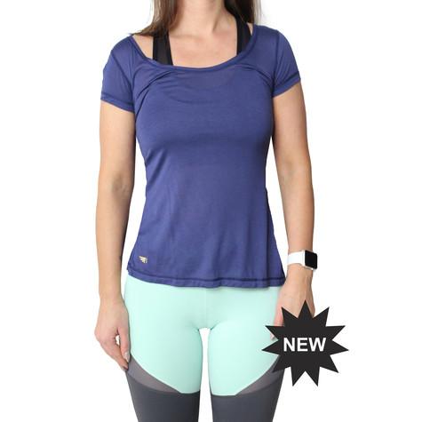 BodyByByram Navy Rhea T-Shirt