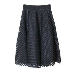 Stella Morgan Self Design Lace Detail Skirt
