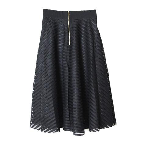 Stella Morgan Self Design Lace Detail Skirt