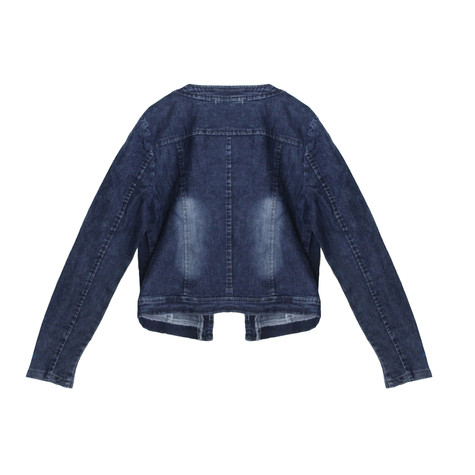Stella Morgan Denim Chain Detail Open Jacket