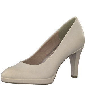 Marco Tozzi Taupe Suede Heels
