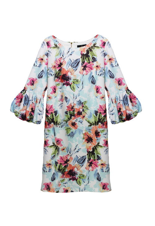 Ronni Nicole Multi Colour Floral Pattern Print Dress