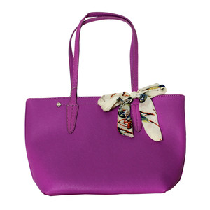 Dave Jones Purple Scarf Accessory Detail Bag