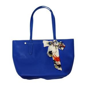 Dave Jones Scarf Accessory Detail Blue Bag