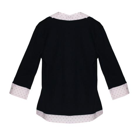 Twist Navy & Pink 2 in 1 Knit