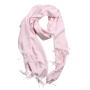 Cocana Light Pink Pashmina Scarf