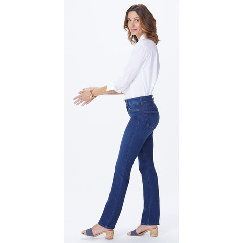 NYDJ Straight in medium blue Premium Denim
