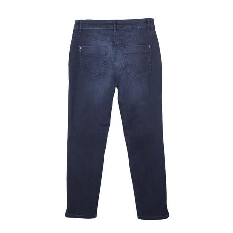 Twist Pearl Pocket Detail Stone Jeans