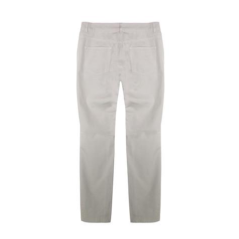 Twist Beige 3 Zipper Detail Jeans