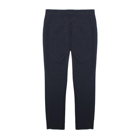 SophieB Dark Navy 3 Zipper Detail Jeans