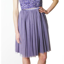 Lace & Beads Lavender Val Skirt