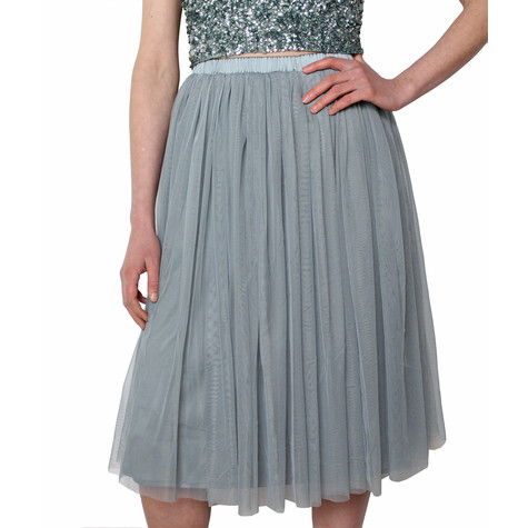 2ba60fdda Lace & Beads Teal Val Skirt | Pamela Scott