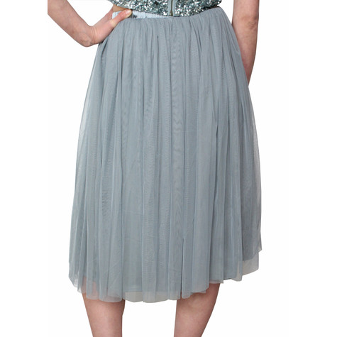 Lace & Beads Teal Val Skirt
