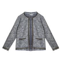 Zapara Blue Chanel Style Open Knit