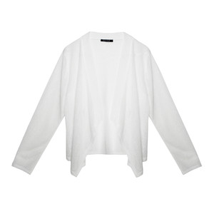 Twist Off White Open Lightweight Knit