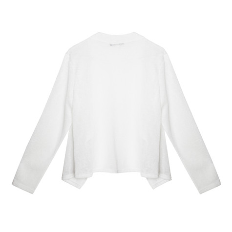Twist Off White Open Lightweight Knit