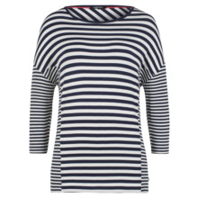 Olsen T-SHIRT STRIPED PATTERN - DARK PACIFIC
