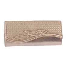 Barino Gold Clutch Bag