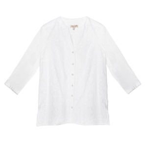 Tinta Style White Button Up Blouse