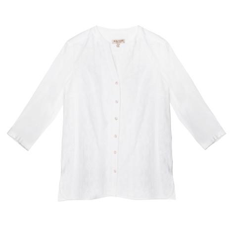 Tinta Style White Button Up Blouse