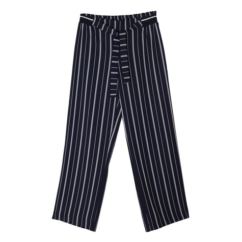 SophieB Navy & Silver Wide Leg Trousers