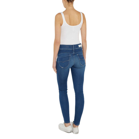 Salsa Jeans Push In Secret Skinny Jeans In Mid Wash