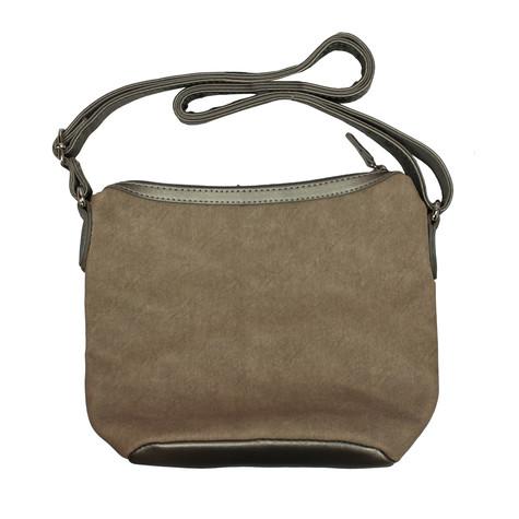 Dave Jones Gold Wicker Crossover Bag