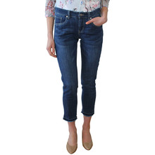 Twist Frayed Hem Stone Jeans