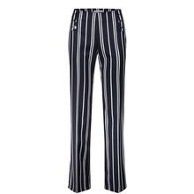 Betty Barclay Black & White Stripe Trousers