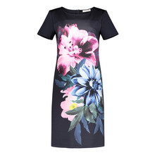 Betty Barclay Dark Pink Floral Pattern Dress