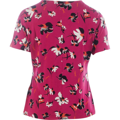 Gerry Weber Pink Passion Flower Pattern Top